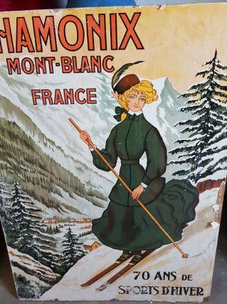 Grand affiche publicitaire