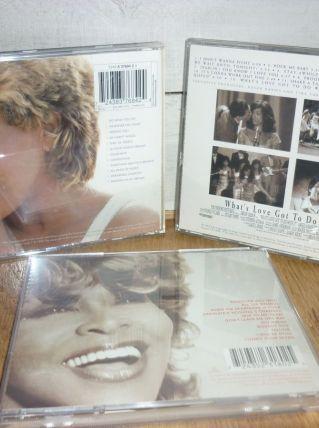 Lot de 3 CD de Tina Turner