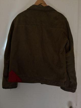 Blouson cuir daim 1970