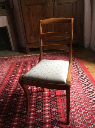 lot de 6 chaises en merisier