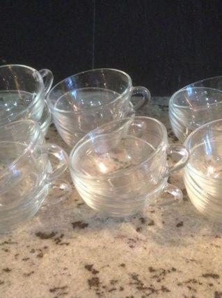 Tasses en verre Duralex