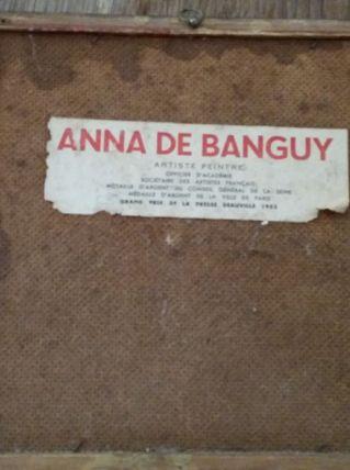Tableau Anna de Banguy