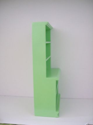Meubles étagères pour magasin miniature - échelle 1/12e