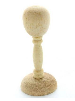 Miniature - Lot de 10 porte-chapeau en bois