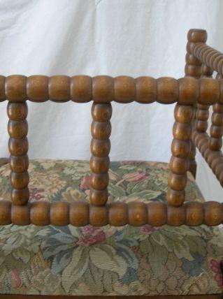 Paire de fauteuils bretons appelés coins de feu