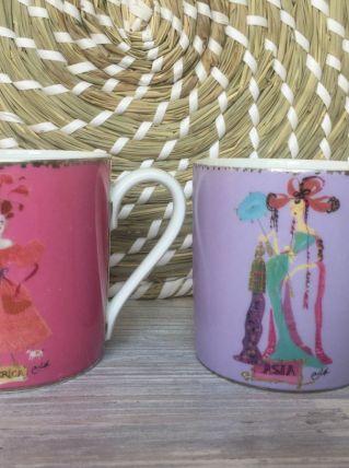 2 Mugs Christian lacroix