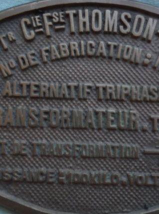 plaques de machines outils