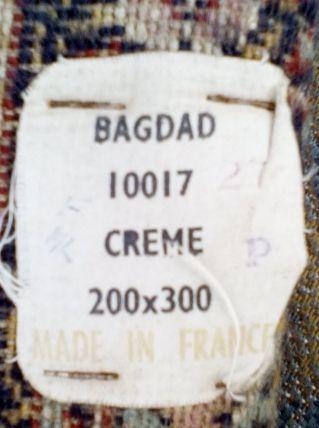 Tapis Bagdad