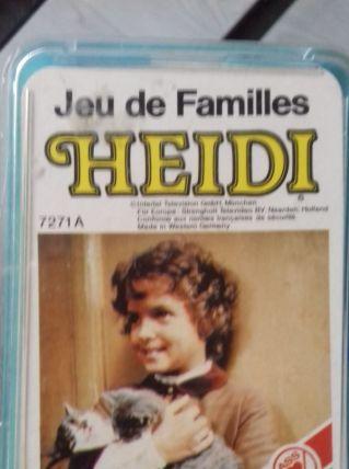 Jeu des 7 familles HEIDI vintage