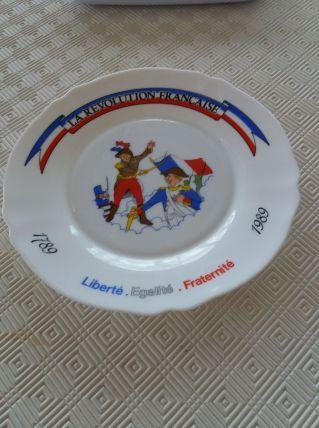 Assiette du Bicentenaire de la Révolution