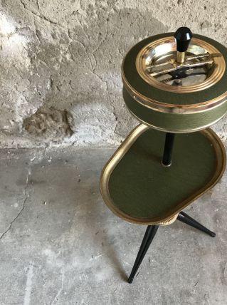 Cendrier sur pied tripode vintage