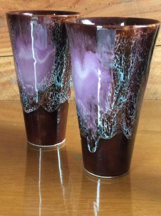 6 Grandes tasses Vallauris -vintage