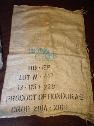 SAC TOILE DE JUTE BON CAFE HONDURAS