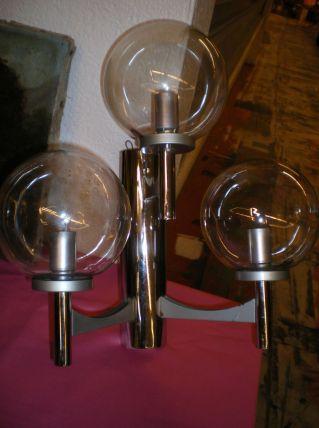 Applique 3 globes 1970/80