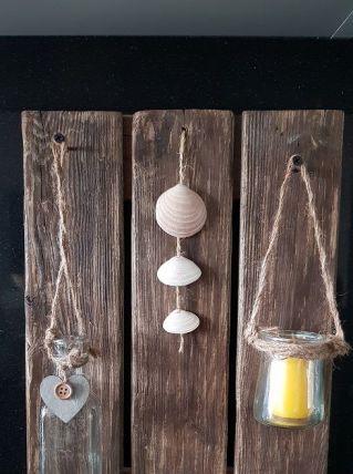 cadre bois vintage deco