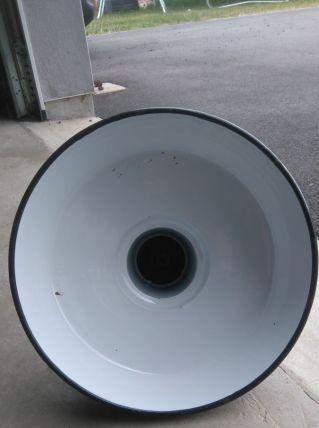 Magnifique lampe suspension industrielle