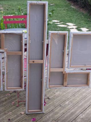 Tableau Design Abstrait (151 X 121cm)
