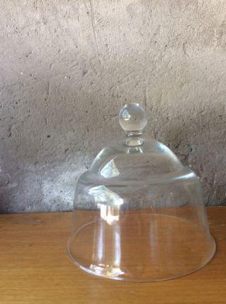 Cloche de présentation en verre