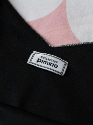 Crop top Pinkie à paillettes taille L