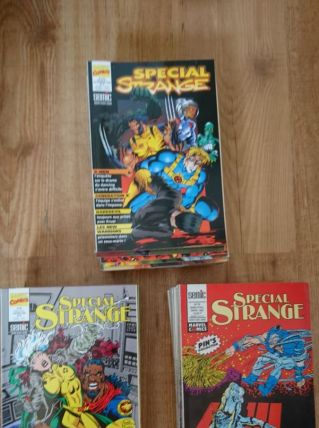 lot 46 comics special strange