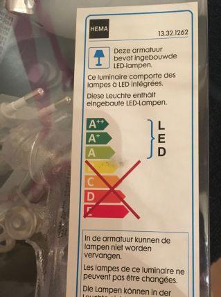 Lampes à pince avec LED intégré