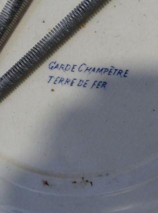 ASSIETTE GARDE CHAMPETRE