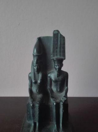 Moulage du Louvre : Amon et Mout