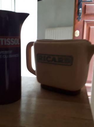 Lot de 2 carafes à eau avec Logo