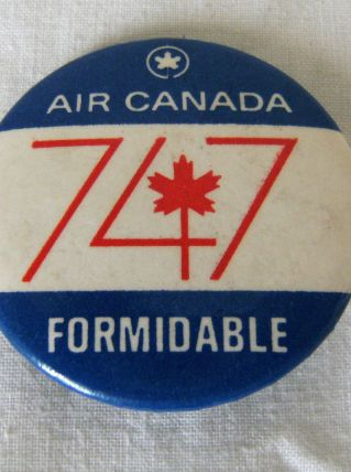 1 badge AIR CANADA