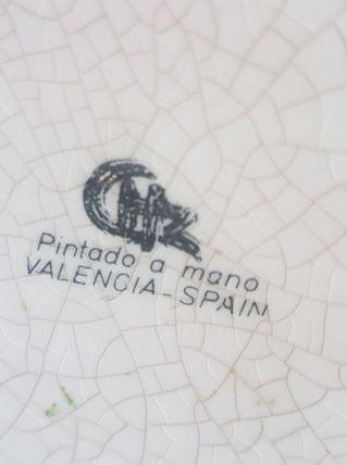 Danseuse en porcelaine - Valence