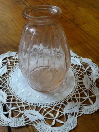 Vase Art déco rose