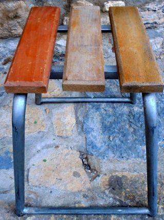 4 tabourets industriels vintage