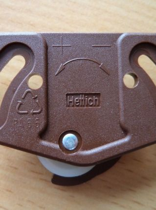 Ferrure / Roulette  porte coulissante Slide Line 55 HETTICH
