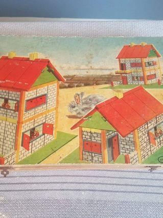 jeu de construction en bois Villas n°903