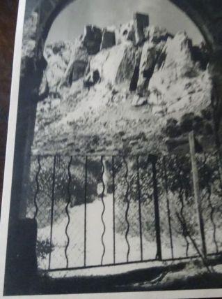 Carte poste Rare les ruines du château des Bau
