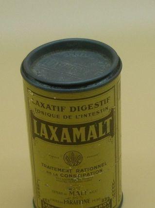 "Boîte en fer 1950, ""Laxamalt"""