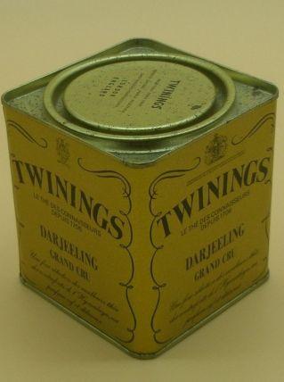 """Boîte à thé en fer de 1980, """"Twinings"""""""