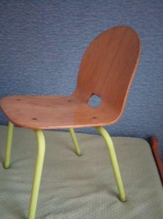 Chaise écolier (maternelle) contreplaqué moulé