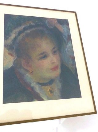Lithographie Repro Tableau Auguste RENOIR Au Bal du Moulin
