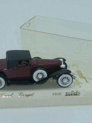 Voiture de collection Solido, Cord coupé, N° 4080