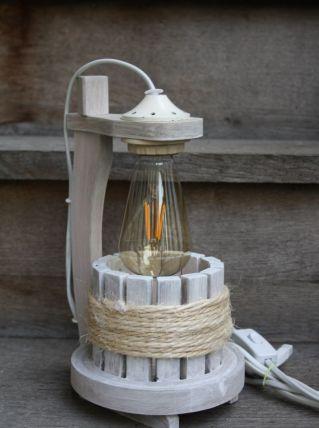 """LAMPE A POSER RECUP' """"LE PUITS"""""""