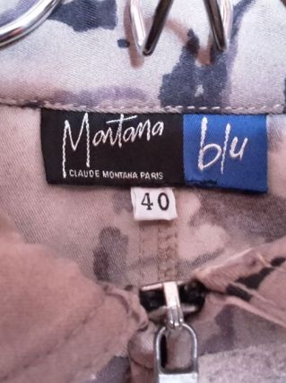Robe Claude Montana Paris