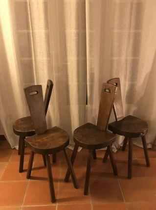 4 chaises de chalet