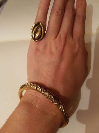 Bracelet et bague taille 48