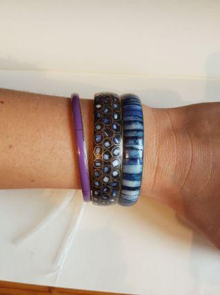 3 bracelets vintage