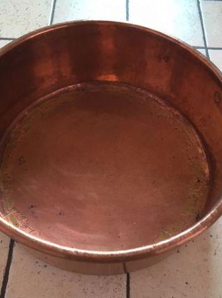 Bassine à confiture en cuivre