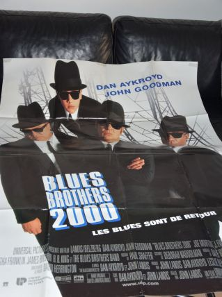 "affiche du film ""Blues Brothers 2000"""