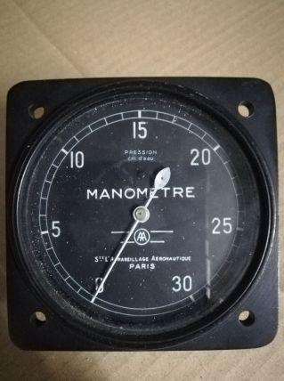 Manomètre Sté Appareillage Aéronautique 1961