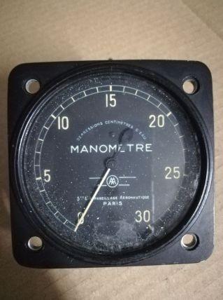 Manomètre Sté Appareillage Aéronautique 1960