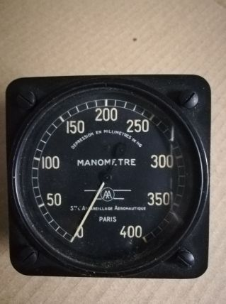 Manomètre aéronautique Badin 1959